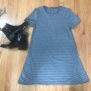 Zara striped sign dress